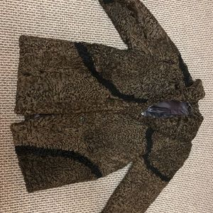 Jackets & Blazers - Lamb Fur Coat (women's); natural / russian origin